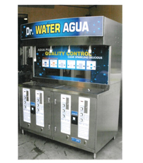 Commercial Water Vending Machine Water Purification