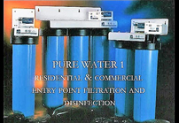 Entry point Filtration & Disinfection